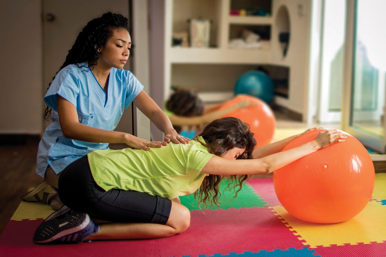 Estudiar Terapia fisica y rehabilitacion