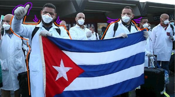 medicos cubanos covid19