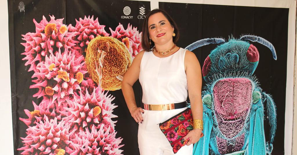 Sandra Andrade Fotografía Científica Concurso Carteles de Investigación
