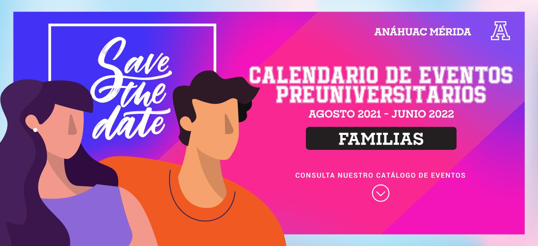 CALENDARIO DE EVENTOS PREUNIVERSITARIOS