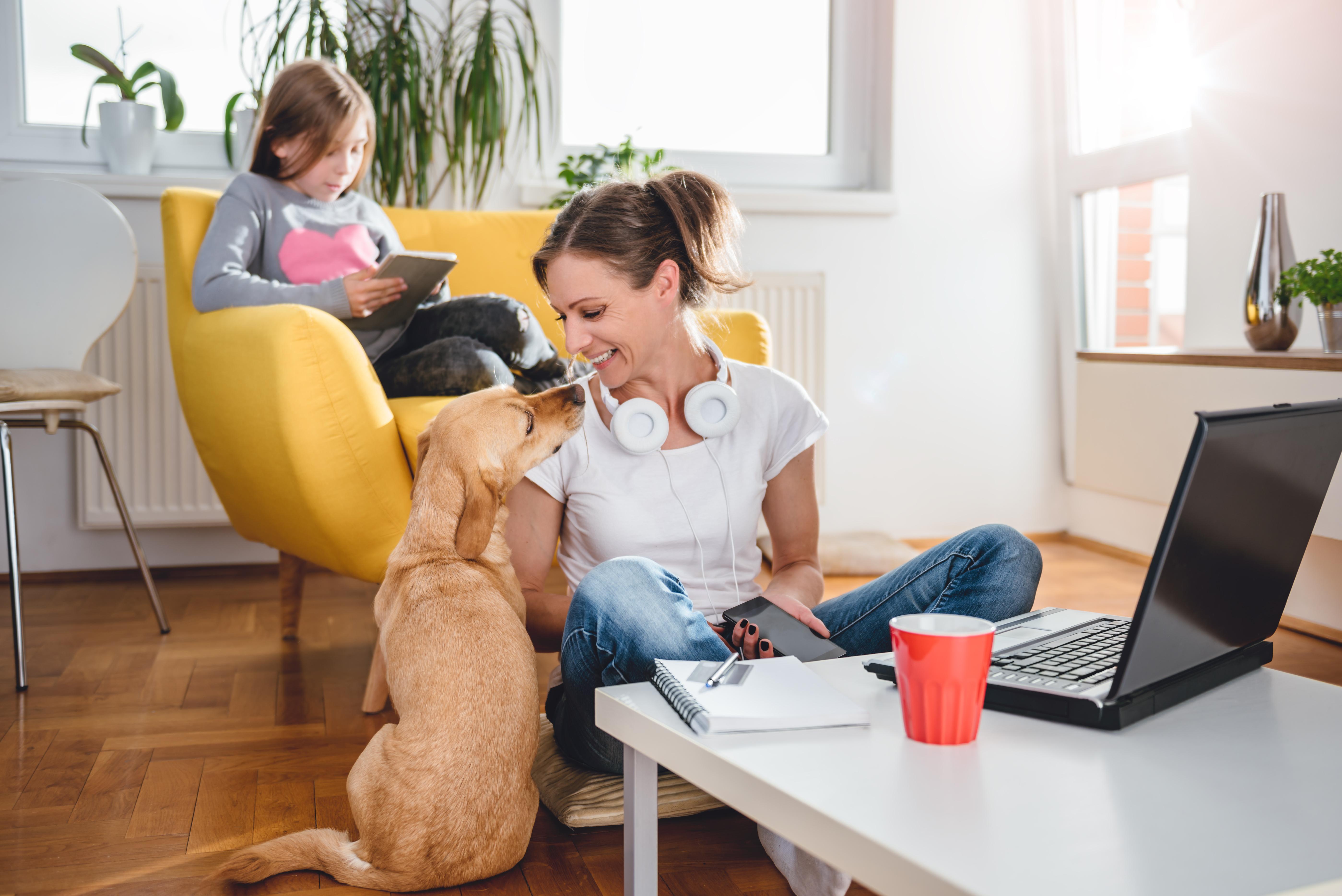 home office con niños coronavirus